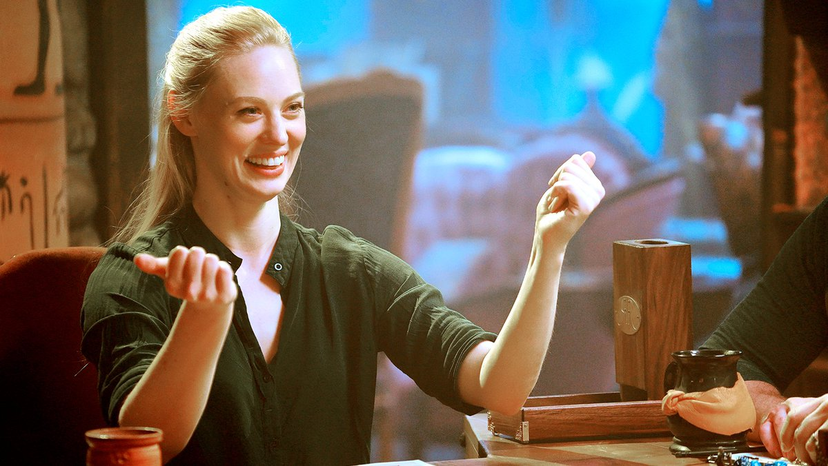 Were so excited to see @DeborahAnnWoll on #CriticalRole! Cant wait to see her in the DM chair in our new D&D series #RelicsandRarities: geekandsundry.com/deborah-ann-wo…