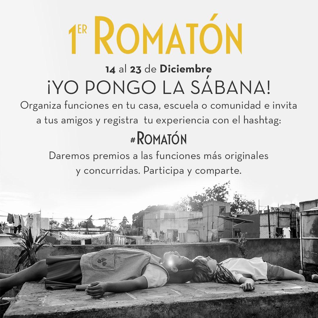 Alfonso Cuaron's photo on #ROMATÓN