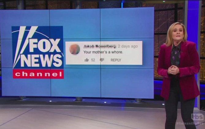 Samantha Bee Says Americans Who Watch Fox News are Racist Nazis https://t.co/KY4seijxFn #maga #maga2020