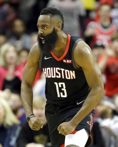 James Harden posted his 4th career 50-point triple-double, breaking a tie with Russell Westbrook for most in NBA history. Wilt Chamberlain and Elgin Baylor (2 each) are the only other players with multiple career 50-pt triple-doubles.  h/t @EliasSports