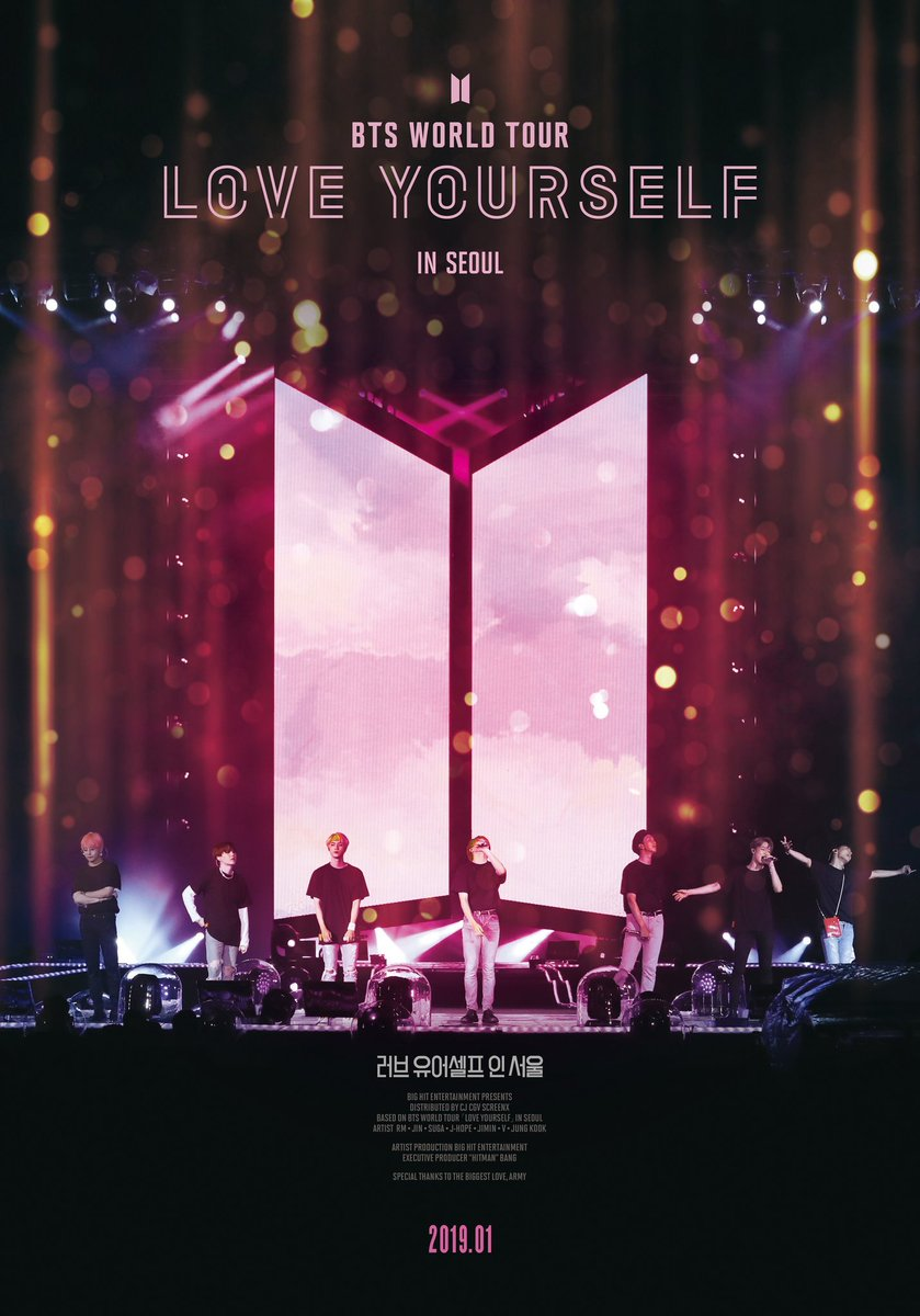 BTS to give fans fully immersive concert experience through 'Love Yourself In Seoul' film https://t.co/tPo7ODLDxl