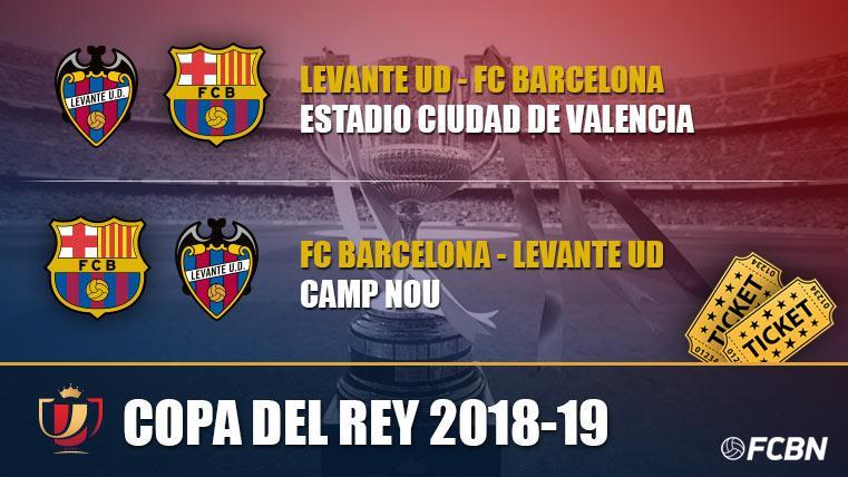 Hasil undian babak 16 besar Copa del Rey 2018/2019  Levante vs Barcelona  Leg 1: 09 Januari 2019 Leg 2: 16 Januari 2019  #indobarçabogor #copadelrey #barça #levante #copabarça #forçabarça🔴🔵