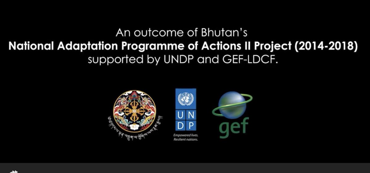 Flash floods and landslides keep increasing due to #climatechange. Watch this short video on #Bhutan finding adaptive solutions reducing the impact from climate induced disasters. See  http:// youtu.be/U6nOA4JH28M  &nbsp;  <br>http://pic.twitter.com/YEHWNuaFVo