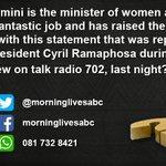 Bathabile Dlamini Twitter Photo