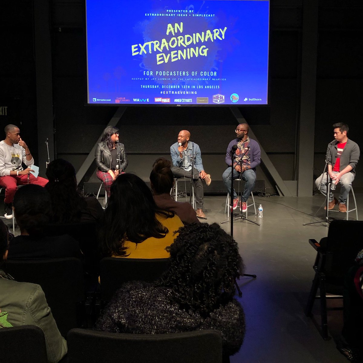 Those voices are making an amazing impact! #podcastersofcolor #podcasts