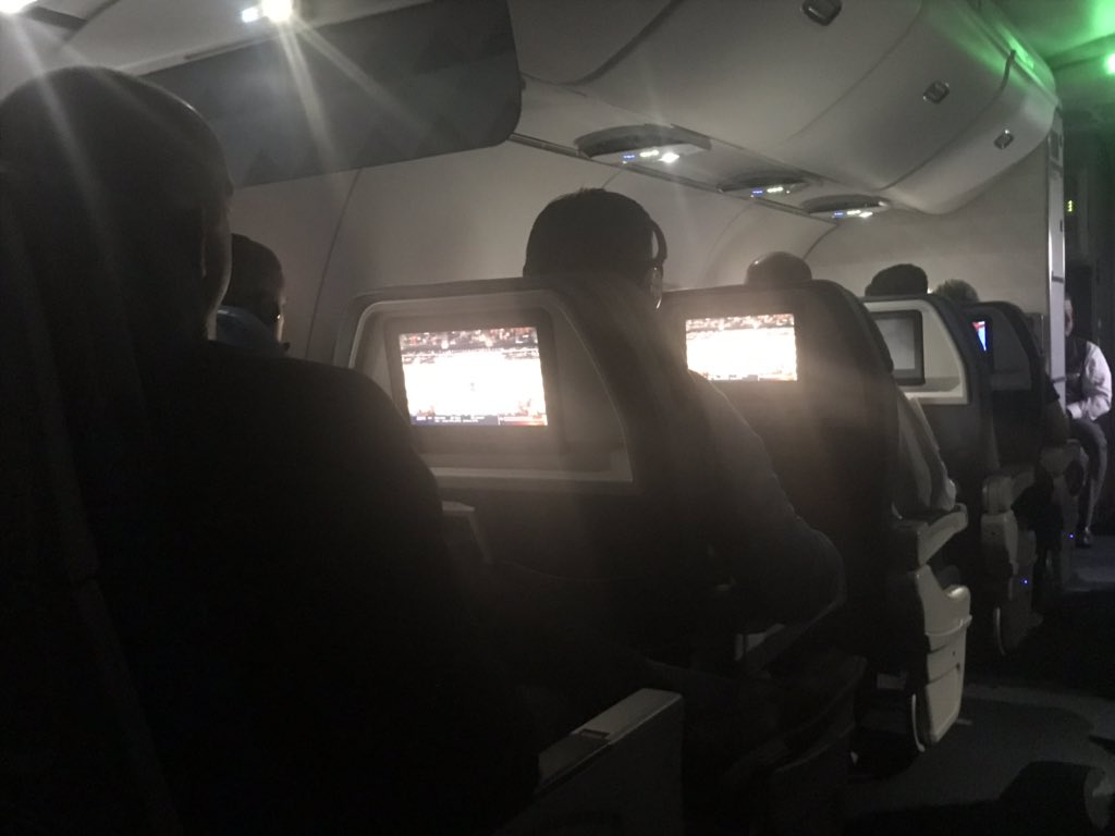 @Huskervball Whew! Glad @Delta  flight 814 to OMA didn't take off a moment sooner! We would've lost connection just as NU clinched the win. Cheers throughout the cabin!!! https://t.co