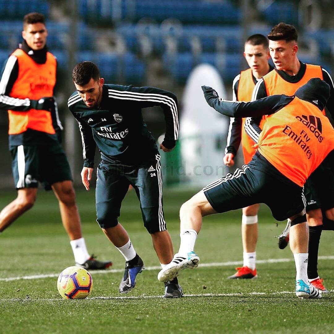 Entrenamiento del jueves. Preparación para el partido de este sábado ante Rayo Vallecano por #LaLiga. #RealMadrid #Madrid #RMCity #RMLiga #LaLiga