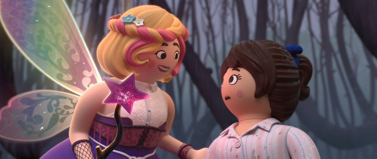#PlaymobilTheMovie Coming in 2019!! 💕 Watch the teaser trailer now! 🧚♂️✨ #FairyGodMother youtu.be/K-C1ys02wlU