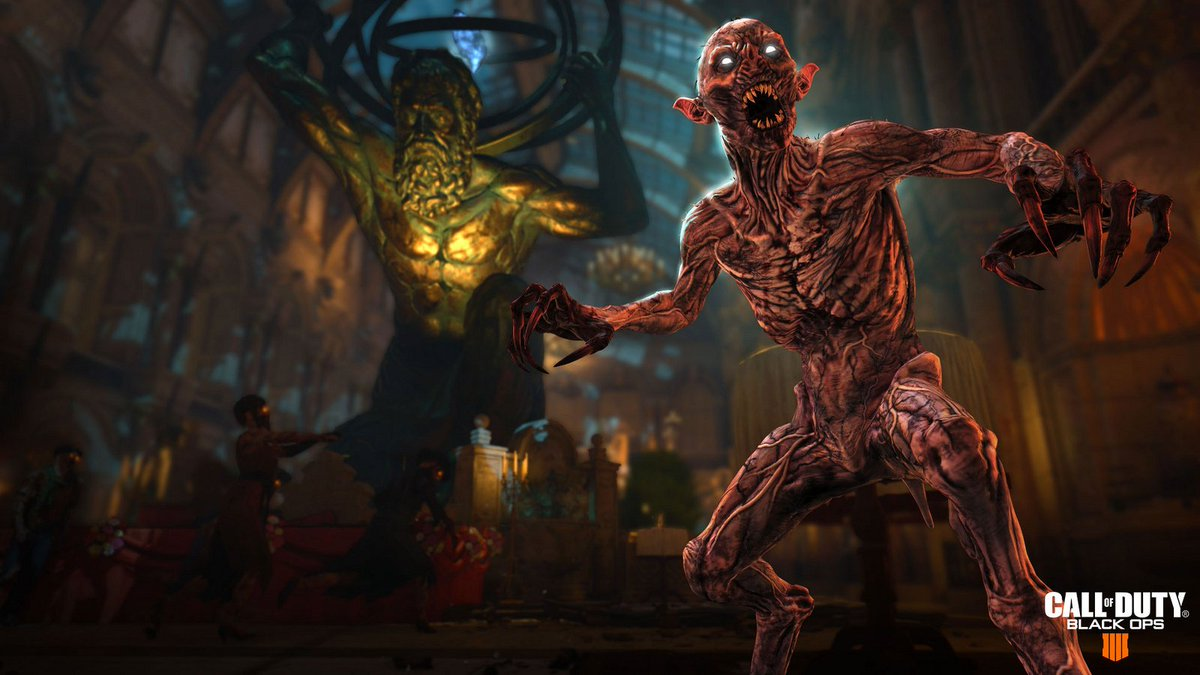 Undead partygoers, Catalyst Zombies, and other horrors await in the new 'Dead of the Night' Zombies experience for Black Ops Pass: https://t.co/RmaEcZQOKb