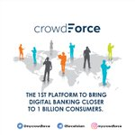 Image for the Tweet beginning: CrowdForce uses mobile technology, as