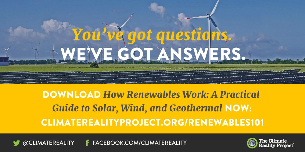 It's no secret that we love #CleanEnergy. And we suspect you will too after learning how solar, wind, and geothermal energy really work https://t.co/H55TBNWla1