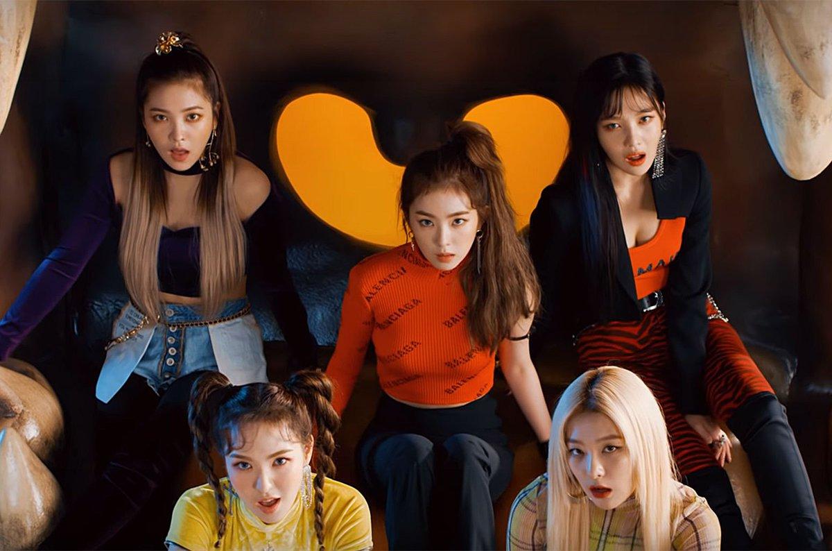 Red Velvet's 'RBB' earns the group their biggest U.S. album sales week https://t.co/M4hrywb2uU