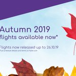 Image for the Tweet beginning: Your Autumn 2019 break awaits!