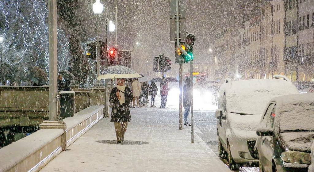 Neve in arrivo a Treviso nel fine settimana https:...
