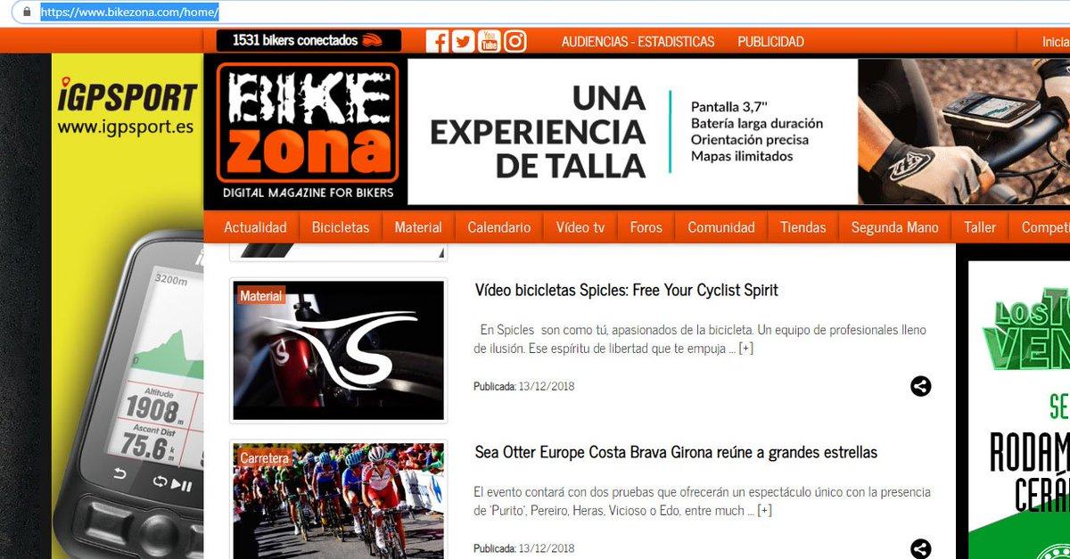 Gracias a @BikeZona por publicar nuestro vídeo @SpiclesBikes. Es un placer que un portal especializado en #ciclismo como es #BikeZona se haga eco de nuestros productos. Aquí os lo dejamos ▶ https://t.co/FGpSmrVRhH ◀  Esta #NAVIDAD 🎁Regala🎁 SPICLES.🎄🎅🏻🚴♂️ https://t.co/DEYBgMAYHB