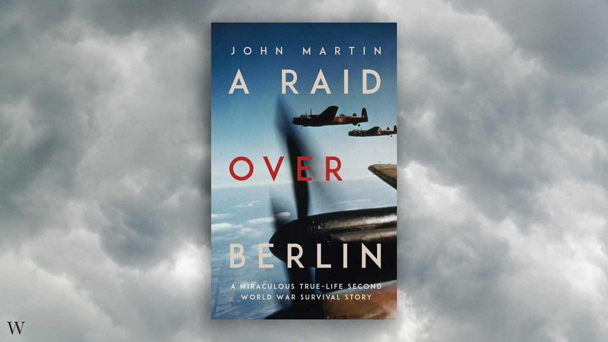 Compelling, detailed and humane, John Martin's A Raid Over Berlin, an account of miraculous survival and a cruel twist of fate, is an involving exploration of profound courage, hope and determination. Find out more here: waterstones.com/book/a-raid-ov…