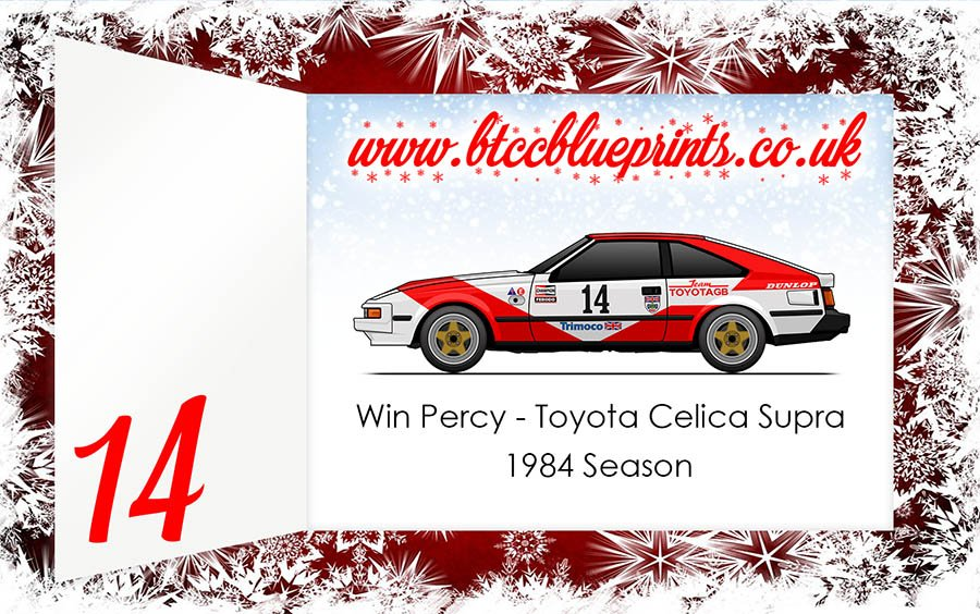Btcc Blueprints On Twitter Day 14 Of The Touring Car Advent