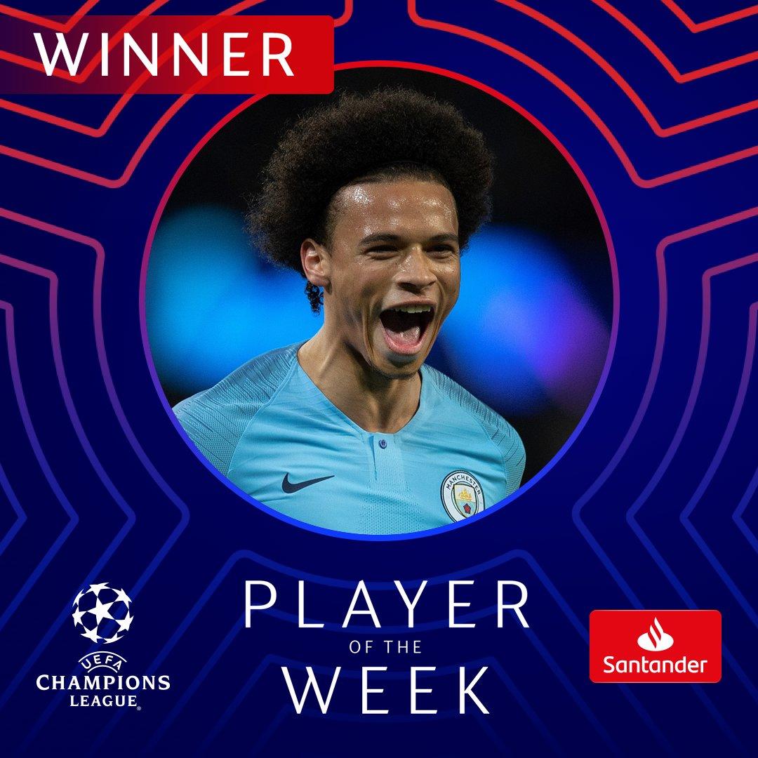 UEFA Champions League's photo on Leroy Sané