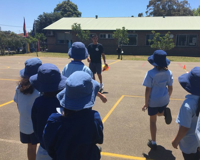 Coaching made me feel important to the little kids. They looked up to me as a role model and I was proud to represent Creating Chances and our school in a respectful way. - student from Randwick Boys HS Photo
