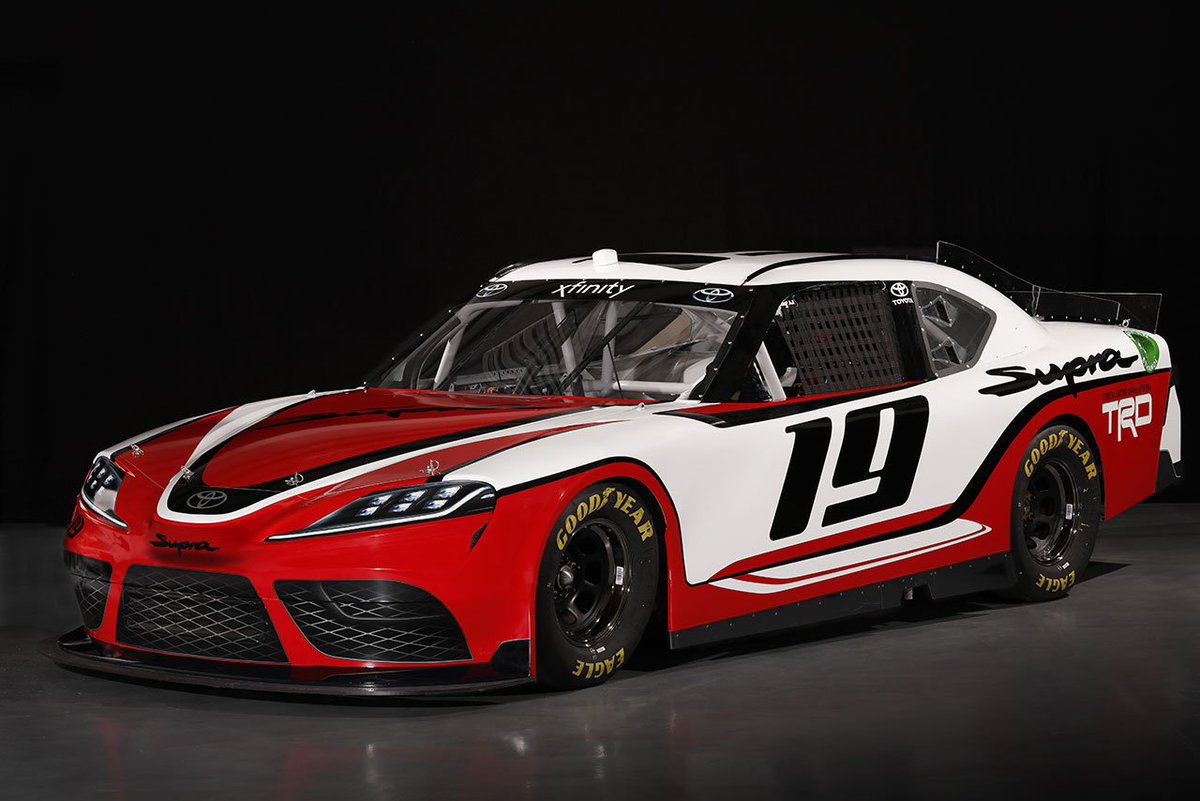 グッドイヤー、東京オートサロンで2019年のNASCARエクスフィニティ戦うトヨタ・スープラを展示 https://t.co/ddReFflZOT #NASCAR #NASCARjp #TAS2019 #東京オートサロン