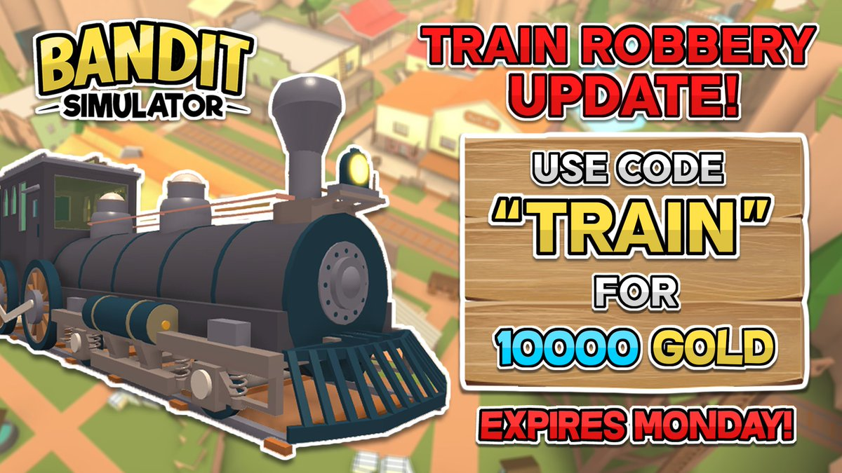 Novaly Studios On Twitter Train Heist Update Is Out Use Code