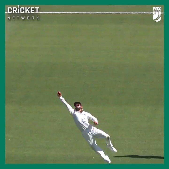 A stunning grab from Virat Kohli shortly after the tea break!  #AUSvIND | @bet365_aus