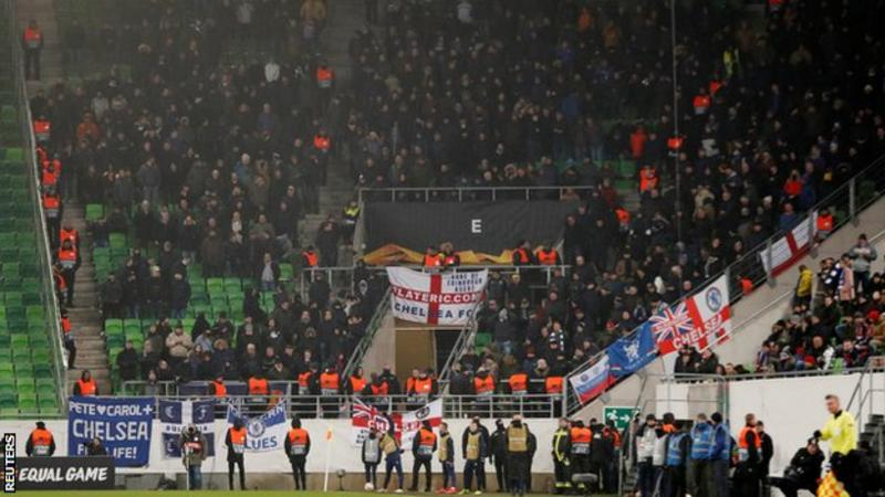 Chelsea Football Club have condemned the fans who sang an anti-Semitic chant in the Europa League game with MOL Vidi saying that they have shamed the club; Discuss on pakpassion.net/ppforum/showth… #CFC