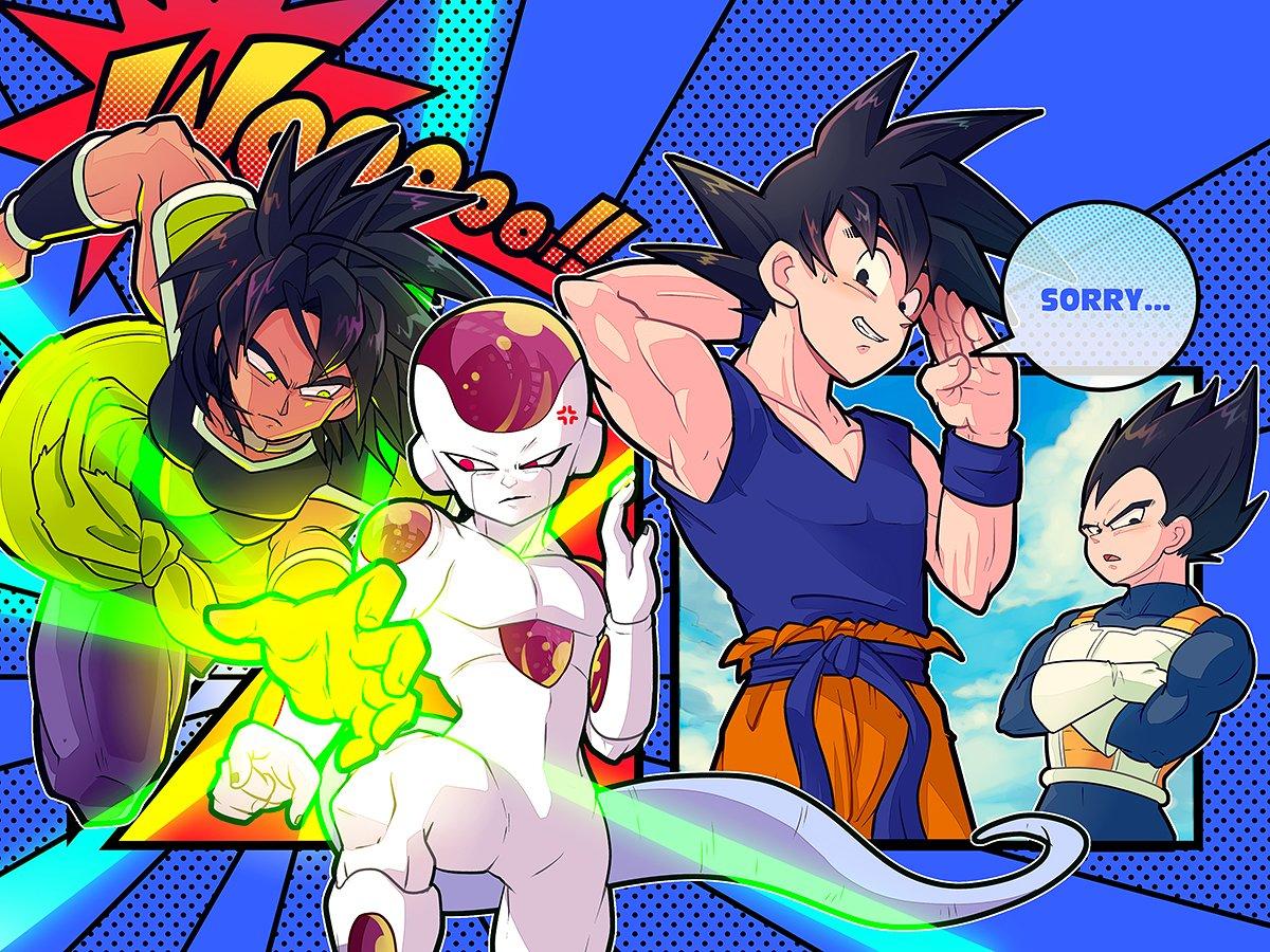 Images découvertes [Fanarts Dragon Ball] - Page 5 DuXJXgsUYAQPnD0
