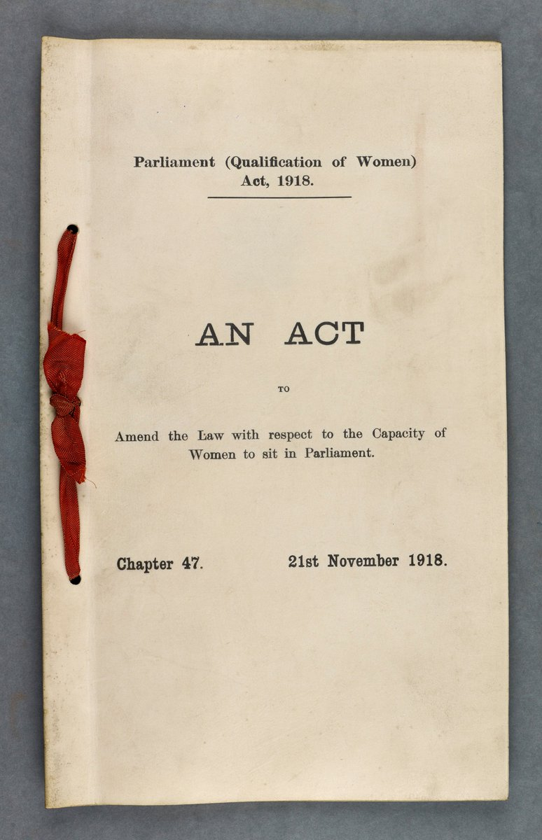 100 years ago today a general election was held that represented a shift in British politics - women could be elected as MPs for the first time. It was also the first general election where some women and all men over 21 could vote. Equal voting rights wouldn't be won until 1928