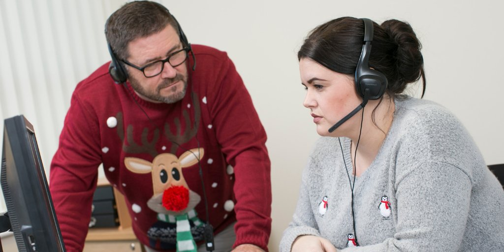 Our helpline advisors, many of whom are veterans, will still be working over Xmas sharing info and advice and referring veterans to expert partners. Meet the team here  http:// ow.ly/uQgb30mhwDR      #Xmasjumperday <br>http://pic.twitter.com/V9OznruyOP