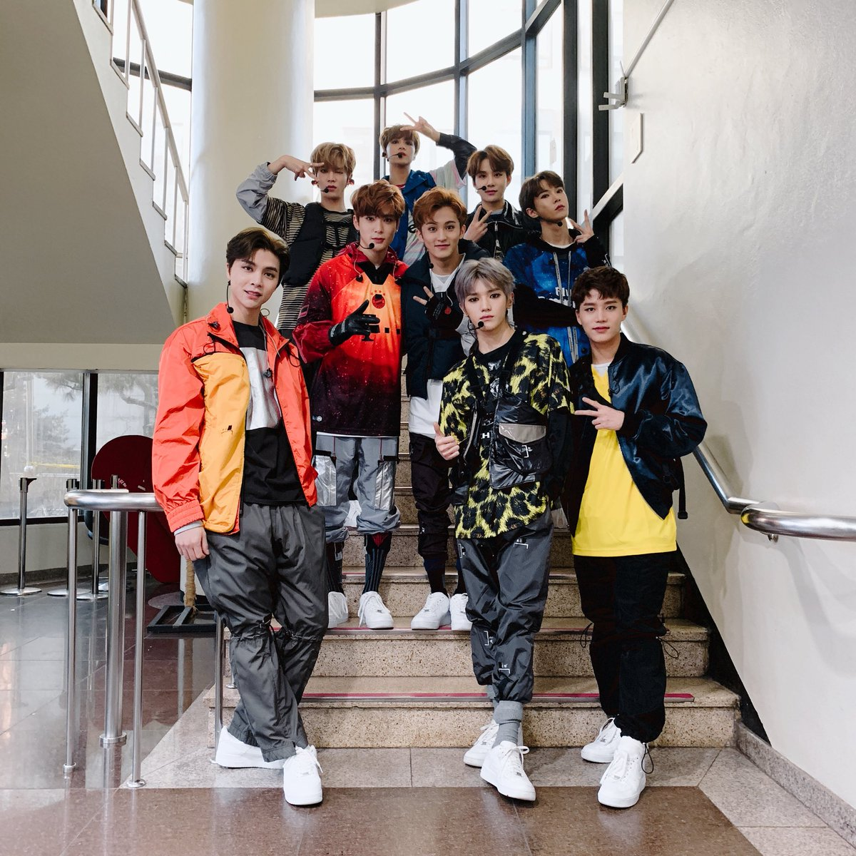 NCT 127's photo on 뮤직뱅크
