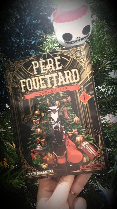 📚Chronique manga 📚 Père Fouettard Corporation aux éditions kurokawa @KuroTweet Dispo ici: Si tu aimes ou non le mythe de Noël, une histoire complètement dingue, drôle et lugubre avec une pointe Made in Pôle Nord, Fonce. #VendrediLecture Photo