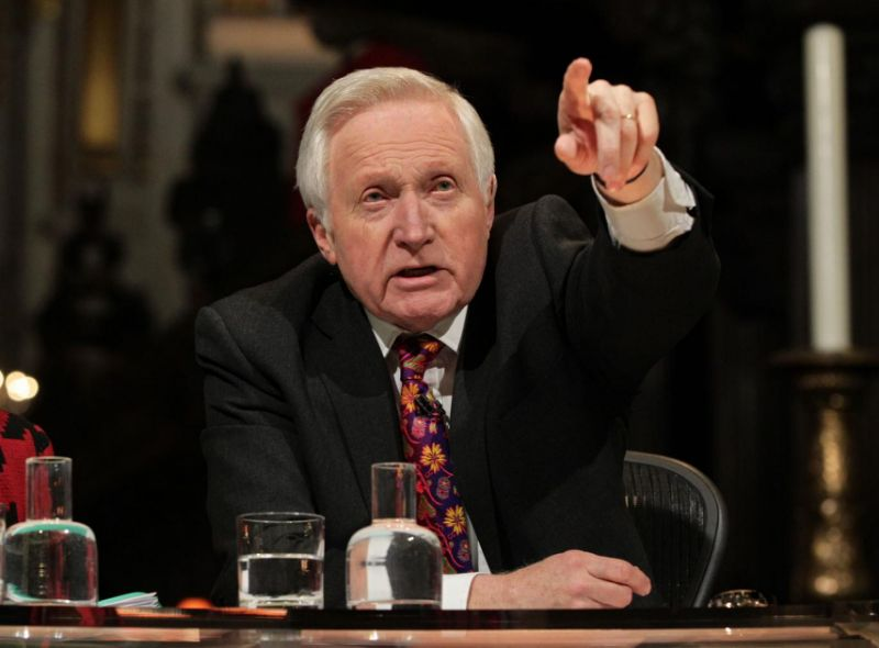'Question Time' viewers get emotional as David Dimbleby given standing ovation on final show https://t.co/aMZOfrUVrW