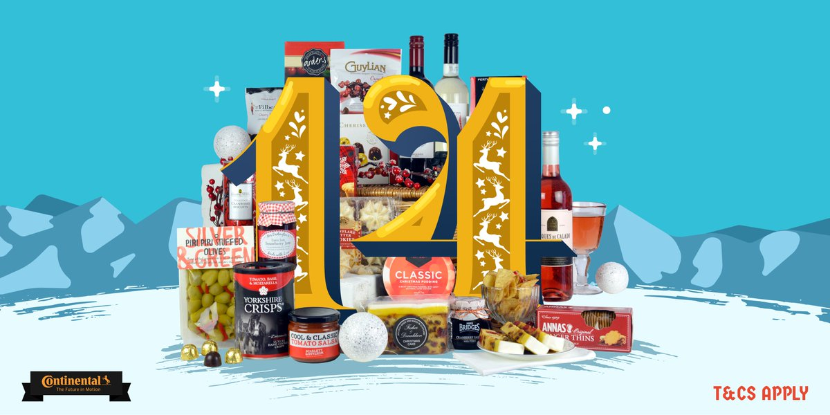 Win A #Christmas #Hamper in Day 14 of #Kwikmas   #RT&amp;F for a chance to #win a luxury #ChristmasHamper from @ContiUK   #adventcalendar #competition #giveaway #xmas #continental #kwikfit #friday #friyay #fridayfeeling #ChristmasIsComing<br>http://pic.twitter.com/ofiC2xuQqm