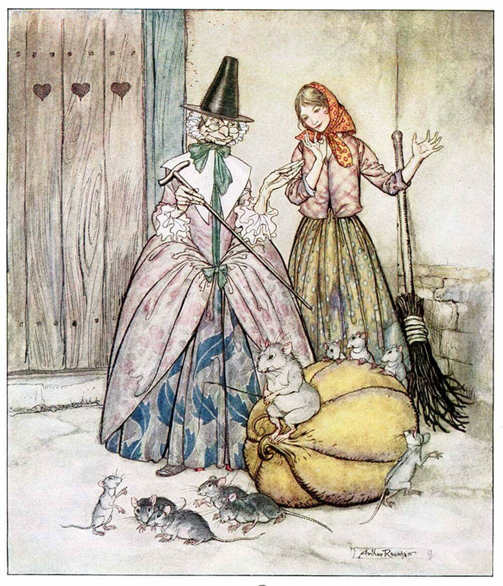 Happy #PantoDay! Im off to my first panto of the 2019 Christmas season later, opening night of Cinderella at @SwanseaGrand. One of my favourite nights of the year - oh yes it is! Bring on the festivities... #Art: Arthur Rackham
