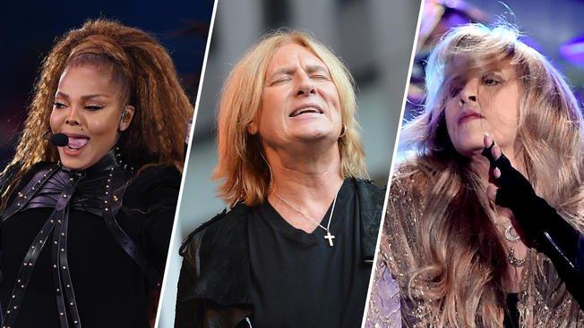 .@JanetJackson, @DefLeppard, @StevieNicks join #RockandRollHallofFame: https://t.co/inj1mrL0yC
