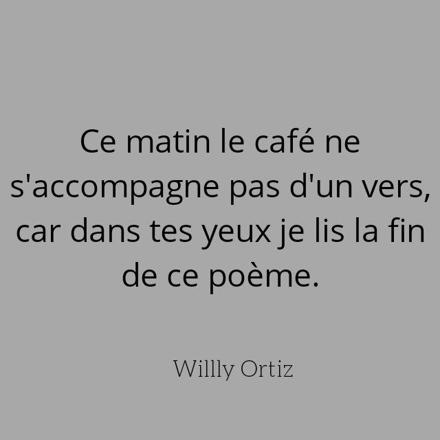 Willy Ortiz On Twitter Bonjour à Tous Et Bon Café
