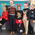 Image for the Tweet beginning: 🎄 Our Executive Team looking
