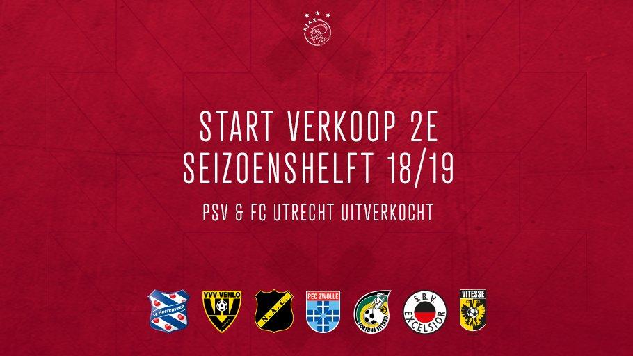 test Twitter Media - Wil jij naar #Ajax in 2019? 😏     ❌ Vanaf € 26 ben je erbij! ❌ Geen Club Card nodig ❌ Nieuwe Ticketshop: bestel makkelijk met mobiel  🎟️ ➡️ https://t.co/atntvD5zJD https://t.co/pAJzKxxxfy