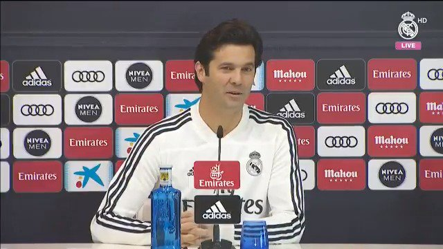 💬 Watch Solari's response to the opening press conference question from #RMTV ahead of tomorrow's visit of @RayoVallecano. #RMCity