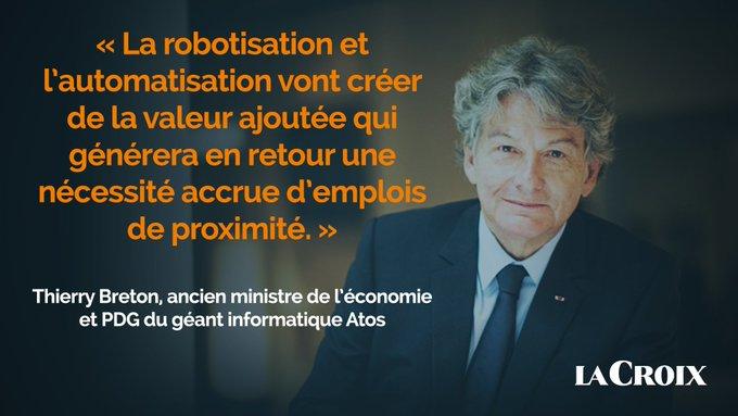 Retrouvez l'interview de @ThierryBreton dans la série @LaCroix consacrée aux évolutions en co...