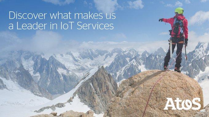 Nous avons été reconnus leader des services #IoT dans la dernière étude @forrester Wave,...
