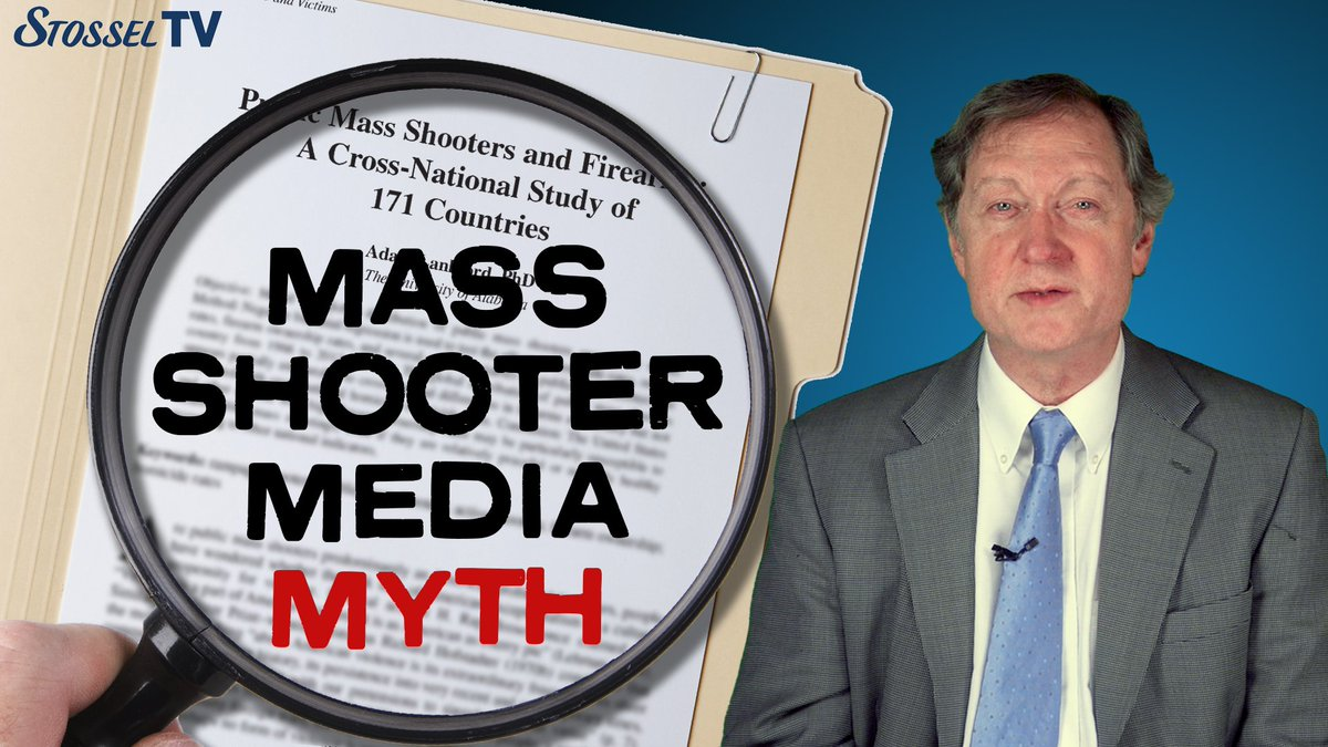 Think the U.S. has the most mass shooters in the world? The media constantly report that.  But it's a myth, says @JohnRLottJR:
