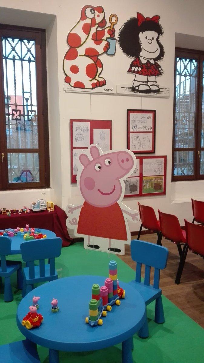 Nel week end Peppa Pig aspetta I bambini a Wow Spazio Fumetto per preparare un Christamas Jumper per raccogliere fondi con Save the Children.  #ChristmasJumperDay #peppapig #adv – at WOW Spazio Fumetto