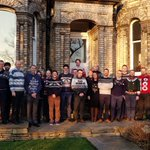 A great selection of Christmas Jumpers from the team this year and well done to Gavin Lea for winning the prize for the best jumper #ChristmasJumperDay2018 #ChristmasIsComing #festivefriday