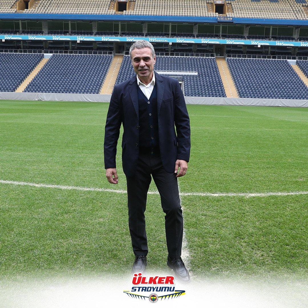 Ülker Stadyumuna yeniden hoş geldin Ersun Yanal!