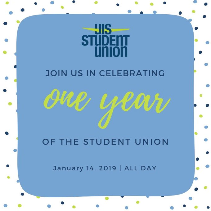 RT @UISUnion: Join us one month from today for our first anniversary celebration! 🎉 More details to come - don't miss it. https://t.co/kZWm…