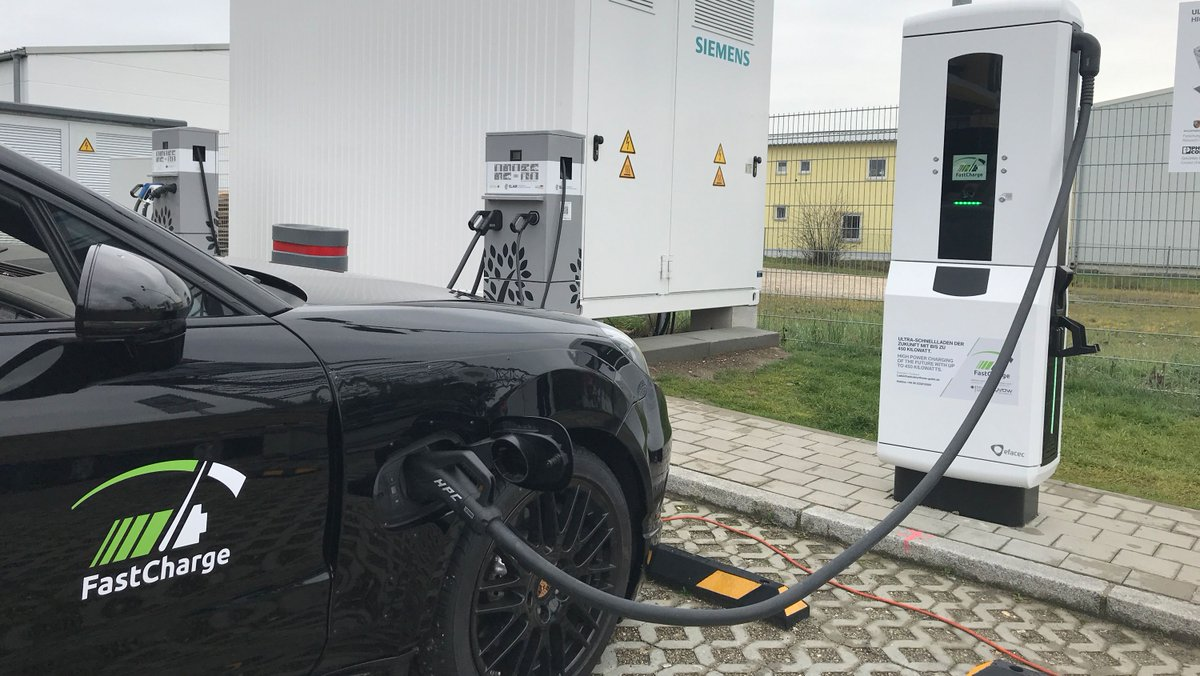 Porsche and BMW unveil EV charger that's three times faster than Tesla's https://t.co/QZ8nSVwwOp