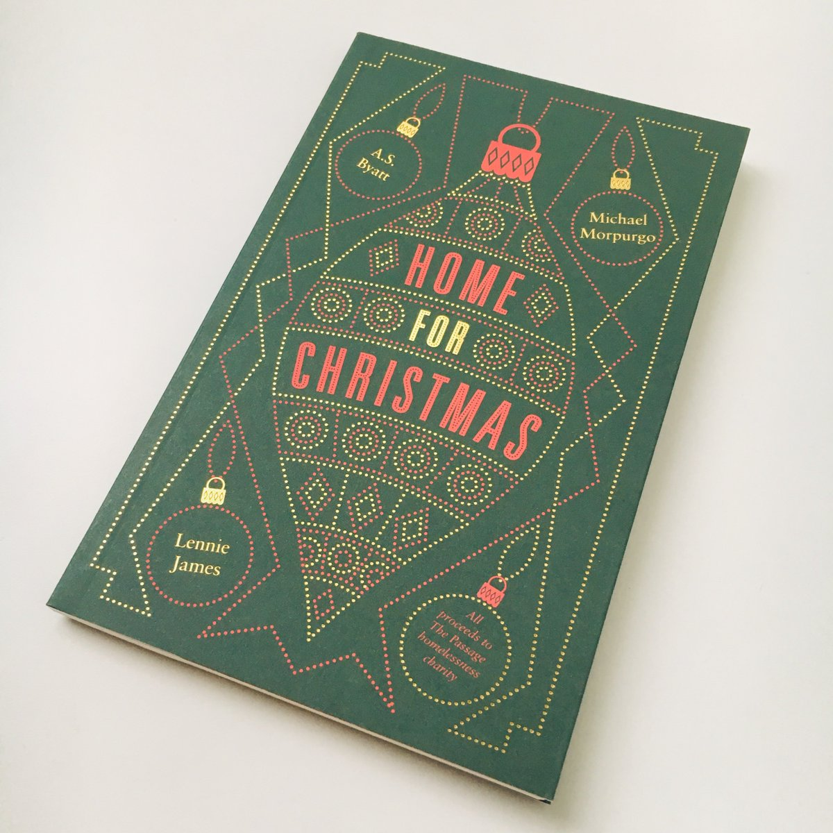 This Christmas were helping to raise funds for @PassageCharitys work to end homelessness through this gorgeous book, Home For Christmas, featuring stories by A. S. Byatt, Lennie James & Michael Morpurgo. Available from today in our London shops.