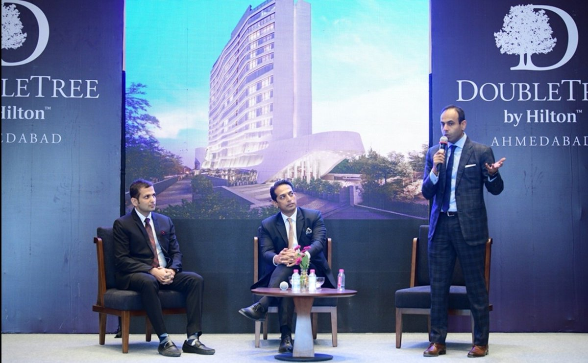 US based global hospitality chain Hilton starts its 19th Indian hotel in Ahmedabad, second only in Gujarat